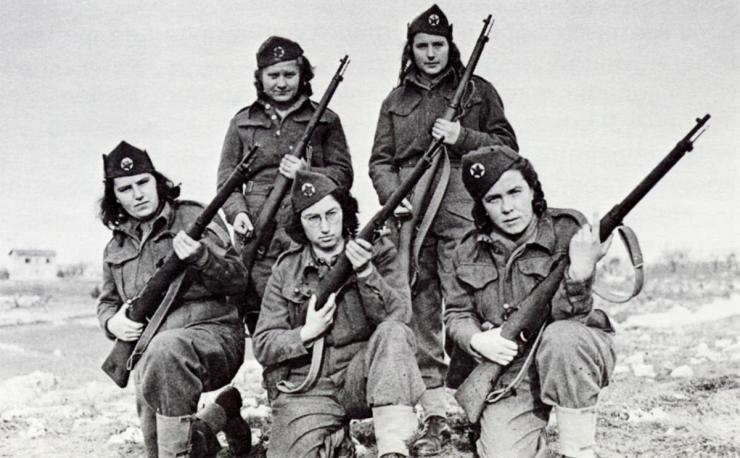 YugoslavWomenPartisansWWII